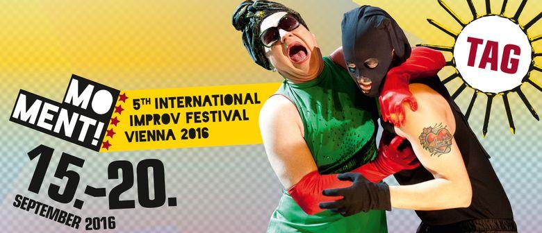 MOMENT! 5th International Improv Festival Vienna 2016