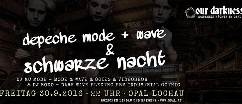 Depeche Mode & Wave | Schwarze Nacht