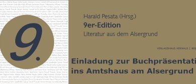 Buchpräsentation  9er-Edition - Literatur aus dem Alsergrund