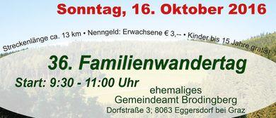 36. Familienwandertag - Wandern für den guten Zweck!
