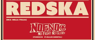 Ska und Punk-Night mit REDSKA und NOFNOG