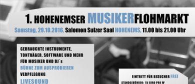 1. Hohenemser Musikerflohmarkt