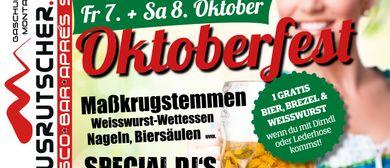 Oktoberfest Ausrutscher