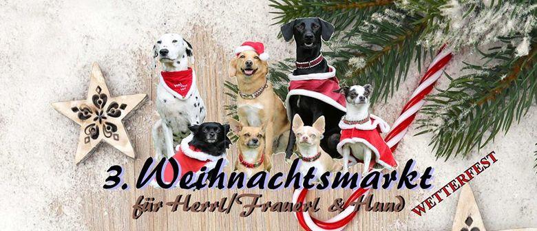 3. Weihnachtsmarkt für Herrl/Frauerl & Hund