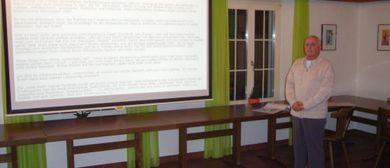 Vortrag:  Heiler spricht über Heilerfolge