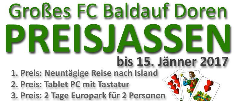 Großes FC Baldauf Doren Preisjassen