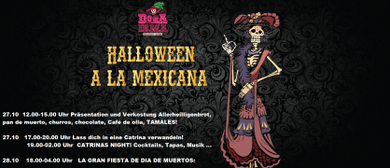 CATRINAS NIGHT HALLOWEEN NACH MEXIKANISCHER ART