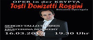 Belcanto-Operngala Sergio Tallo-Torres, Tosti, Donizetti