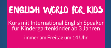 English World for Kids - Kindergarten