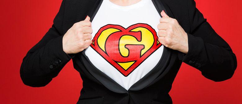 SUPERWOMAN - Gayle Tufts ÖSTERREICH PREMIERE