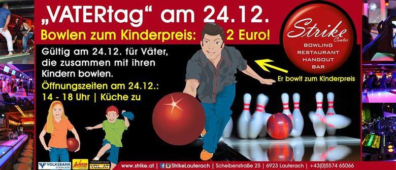 """Vatertag"" im Strike Bowling Center Lauterach"