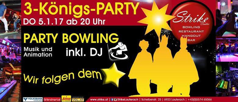 3-Königs-Party im Strike Bowling Center Lauterach