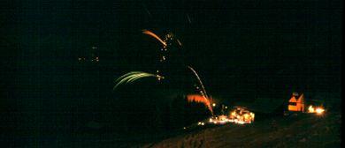 Silvesternacht am Kristberg