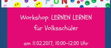 Workshop: Lernen lernen für Volksschüler