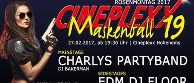 19. XXL Maskenball im Cineplexx Hohenems am Rosenmontag
