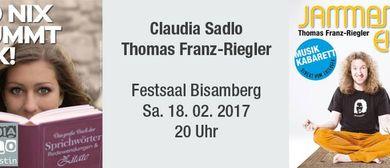 Kabarett: Claudia Sadlo & Thomas Franz-Riegler