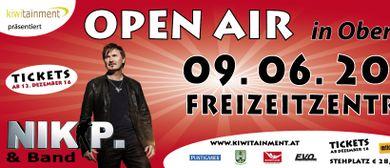 Open Air in Oberwölz mit Nik P. & Band