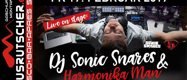 Sonic Snares & Harmonica Man live