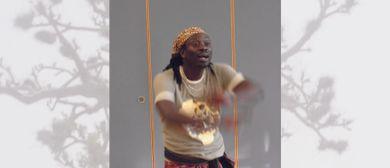 Dynamischer Afro-Tanz