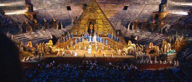 Oper in Verona und Seele baumeln am Gardasee