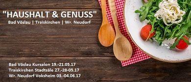 "Messe ""Haushalt & Genuss"""