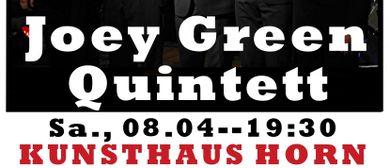 JOEY GREEN QUINTETT WITH SPECIAL GUEST GINA SCHWARZ!