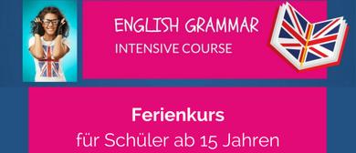 English Grammar Intensive Course