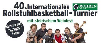 Das 40. Mohren-Rollstuhlbasketball-Turnier in Altach