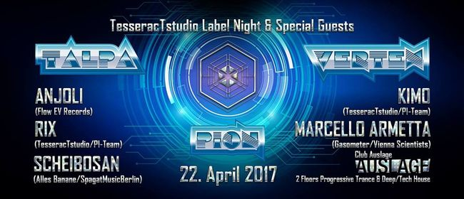 TesseracTstudio Label Night & Special Guests