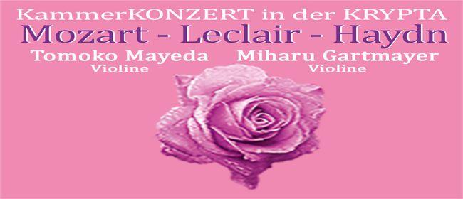 Mozart - Leclair - Haydn Kammerkonzert