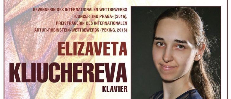 Vernunft und Herz. Klavierabend von Jelisaweta Kljutscherewa