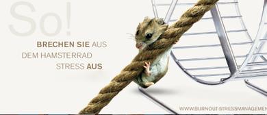 """Kostenloser Vortrag """"RAUS AUS DEM HAMSTERRAD STRESS"""""""