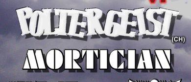 Poltergeist, Mortician, Mayfair, Sacral Rage, plus 2