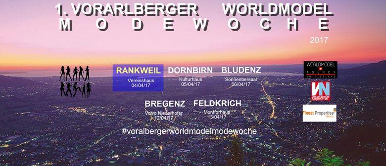 1. Vorarlberger Worldmodel Modewoche - Modenschau Rankweil
