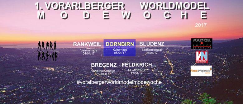 1. Vorarlberger Worldmodel Modewoche - Modenschau Dornbirn