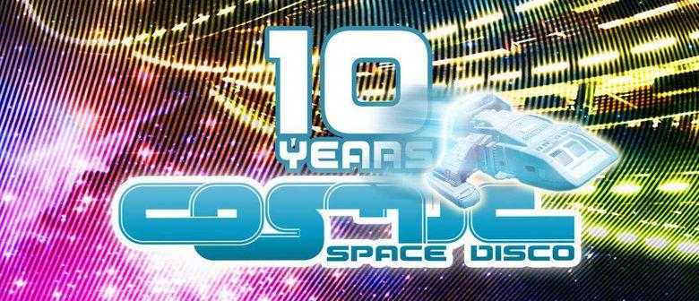10 JAHRE COSMIC Space Disco  mit RAJA RAM, SHPONGLE, DJ LUCA