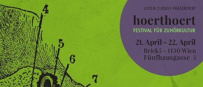 5. hoerthoert Festival für Zuhörkultur April 2017