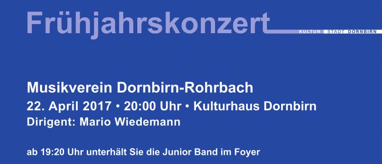 Frühjahrskonzert MV Dornbirn-Rohrbach