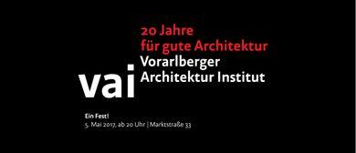 20 Jahre für gute Architektur | ein Fest!