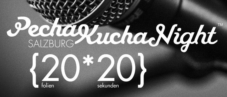 ARGE vortrag: Pecha Kucha Night Salzburg Vol. 33
