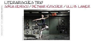 !2x3! Literarisches Trio & Dreimal Bildnerisches