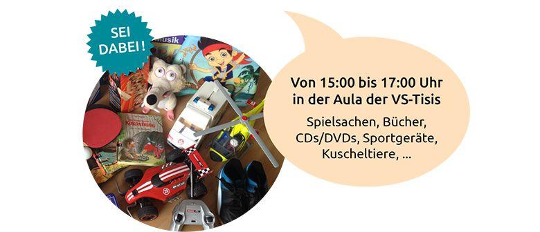 Flohmarkt in der Volksschule-Tisis: CANCELLED