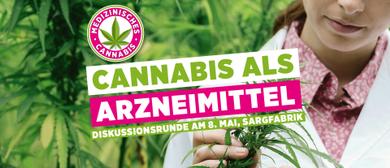 Podiumsdiskussion zum Thema Cannabis als Arznei