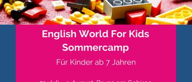 Lego-Sommercamp auf Englisch | 7+