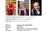Interreligiöses Konzert - Religionen hören