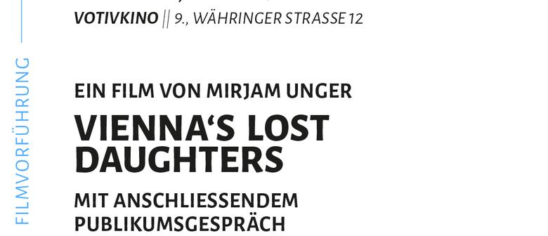 KINOEVENT: VIENNAS LOST DAUGHTERS