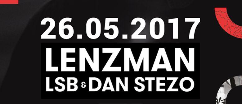 CONTRAST presents Lenzman, Dan Stezo & LSB