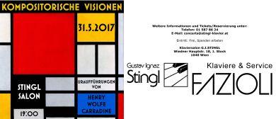 Kompositorische Visionen-Werke von Henry Wolfe Carradine
