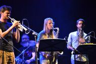 Jazzseminar on stage