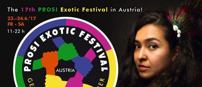 PROSI Exotic Festival feiert Vielfalt menschlicher Kulturen